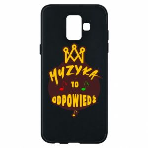 Phone case for Samsung A6 2018 Music is the answer