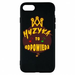 Phone case for iPhone 8 Music is the answer