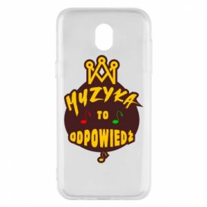 Phone case for Samsung J5 2017 Music is the answer