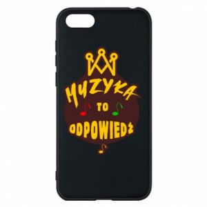 Phone case for Huawei Y5 2018 Music is the answer