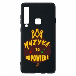 Phone case for Samsung A9 2018 Music is the answer