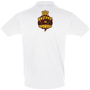 Koszulka Polo Muzyka to odpowiedź