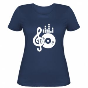 Women's t-shirt Music