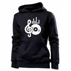 Damska bluza Muzyka