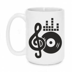 Kubek 450ml Muzyka