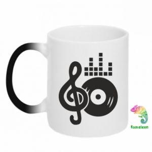 Kubek-kameleon Muzyka