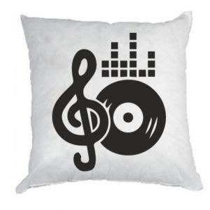 Poduszka Muzyka