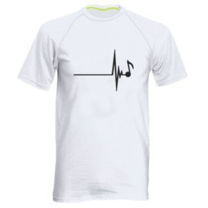 Men's sports t-shirt Music