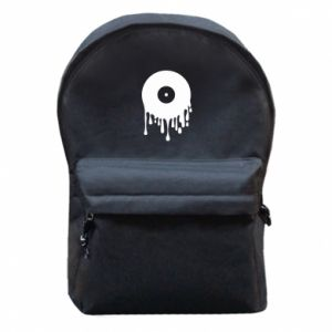 Backpack with front pocket Music