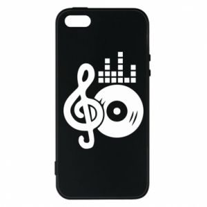 Phone case for iPhone 5/5S/SE Music