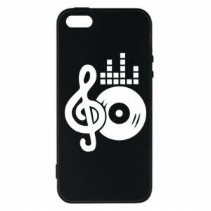 Etui na iPhone 5/5S/SE Muzyka