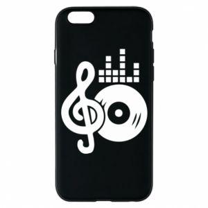Etui na iPhone 6/6S Muzyka