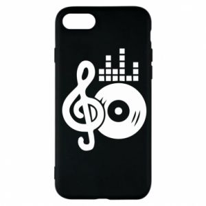 Etui na iPhone 7 Muzyka