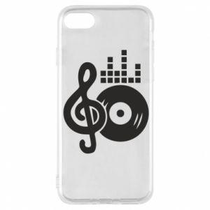 Etui na iPhone 8 Muzyka