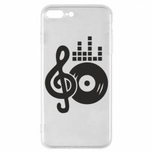 Etui na iPhone 8 Plus Muzyka