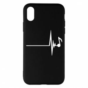 Phone case for iPhone X/Xs Music