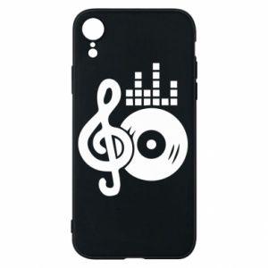 Etui na iPhone XR Muzyka