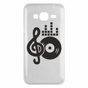 Etui na Samsung J3 2016 Muzyka