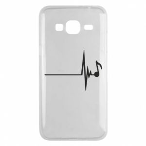 Phone case for Samsung J3 2016 Music