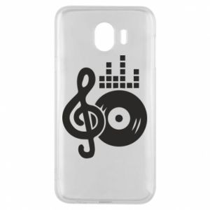 Etui na Samsung J4 Muzyka