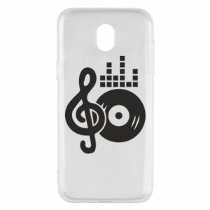 Etui na Samsung J5 2017 Muzyka