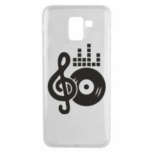 Etui na Samsung J6 Muzyka
