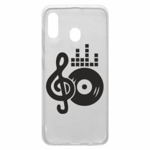Phone case for Samsung A30 Music