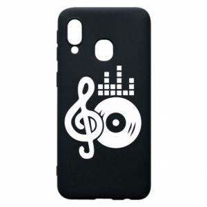 Etui na Samsung A40 Muzyka