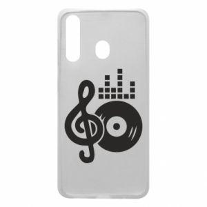 Etui na Samsung A60 Muzyka