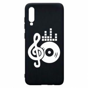 Etui na Samsung A70 Muzyka