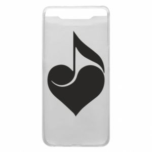 Phone case for Samsung A80 Music