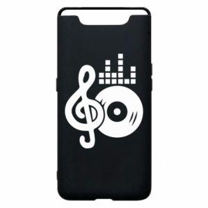 Etui na Samsung A80 Muzyka