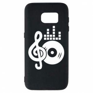 Etui na Samsung S7 Muzyka