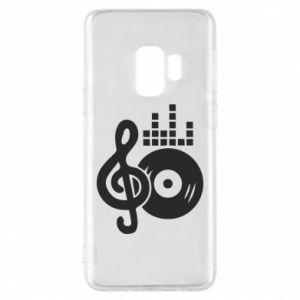 Etui na Samsung S9 Muzyka