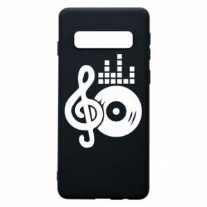 Etui na Samsung S10 Muzyka