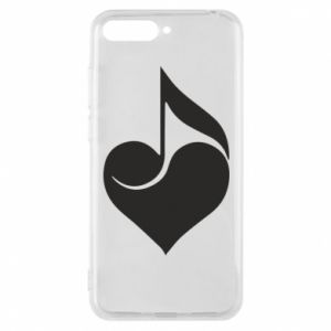 Phone case for Huawei Y6 2018 Music