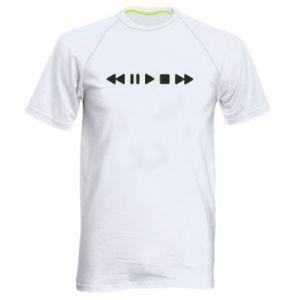 Men's sports t-shirt Music