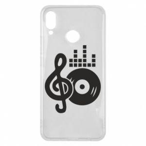 Etui na Huawei P Smart Plus Muzyka