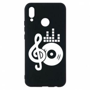 Etui na Huawei P20 Lite Muzyka