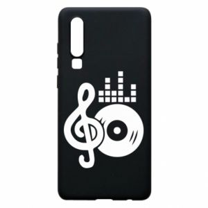Etui na Huawei P30 Muzyka