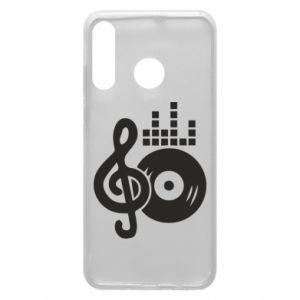 Etui na Huawei P30 Lite Muzyka