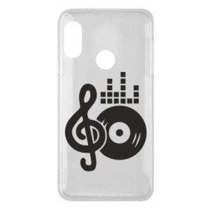 Phone case for Mi A2 Lite Music