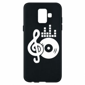 Phone case for Samsung A6 2018 Music