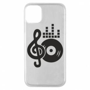Etui na iPhone 11 Pro Muzyka