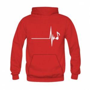 Kid's hoodie Music
