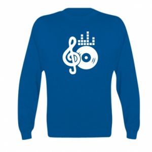 Bluza dziecięca Muzyka