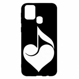 Samsung M31 Case Music