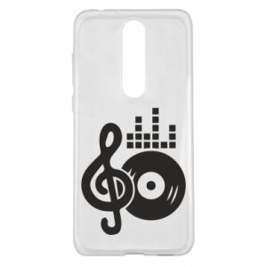 Nokia 5.1 Plus Case Music