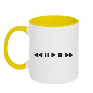Two-toned mug Music