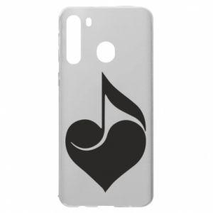 Samsung A21 Case Music